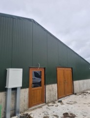 New Poultry house with all materials supplied by Aneuco