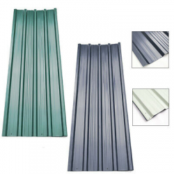 Profiled metal sheeting picture